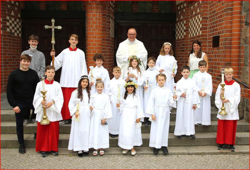 Erstkommunion 12. Juni 2021